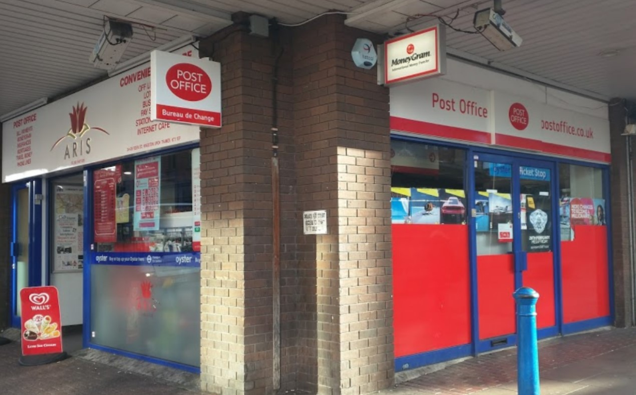 Post Office 22-26 Eden St, Kingston upon Thames KT1 1BL