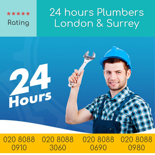 24 hours Plumbers London Surrey